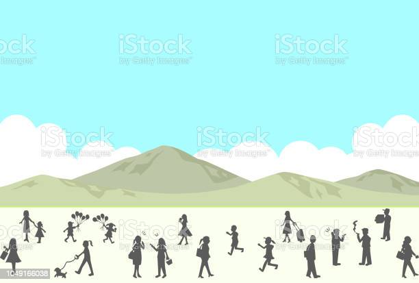 Silhouette people life style concept in various location vector id1049166038?b=1&k=6&m=1049166038&s=612x612&h=rmreqi9i zzvu2g0fkq5daqdpiffgmiaubbkfyr622m=
