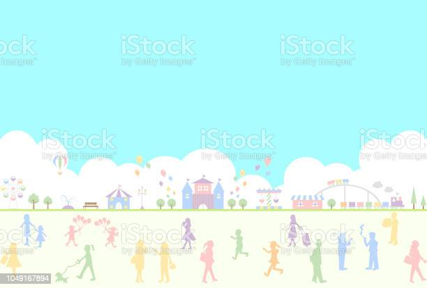 Silhouette people life style concept in various location vector id1049167894?b=1&k=6&m=1049167894&s=612x612&h=0m2ek6eezil i0b uge1cpeknn7g am6tnbliqs4lwg=