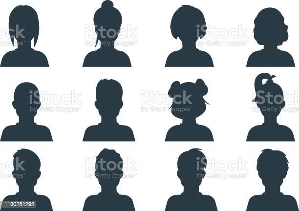 Silhouette person head people profile avatars human male and female vector id1130251292?b=1&k=6&m=1130251292&s=612x612&h=8tu4u8kpe2n  mbpyv20sthkdcw1smei ddfpcgdlqu=