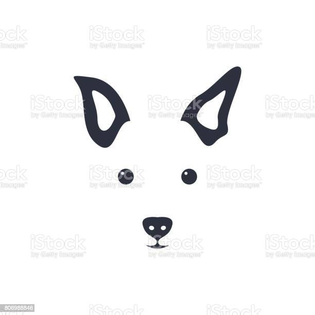 Silhouette simple head dog vector illustration vector id806988846?b=1&k=6&m=806988846&s=612x612&h=k u95vke3c2k 4f2usesa3tlenxzhbiyzup5llvt3pc=