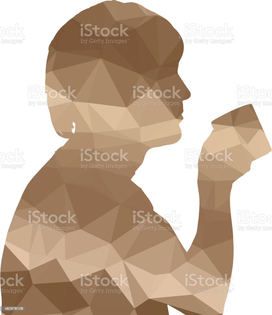 silhouette vector art illustration