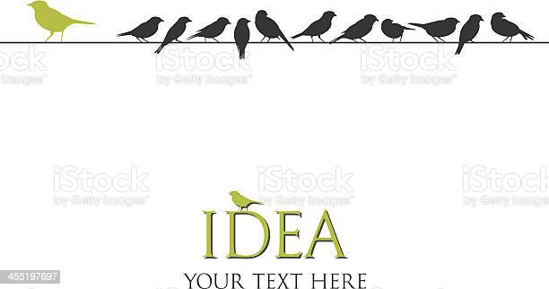 Silhouette vector illustration of birds on a wire vector id455197697?b=1&k=6&m=455197697&s=612x612&h=i1dmnzgfp9ul5mg0 7i erkgsx990oee fiinect7v4=