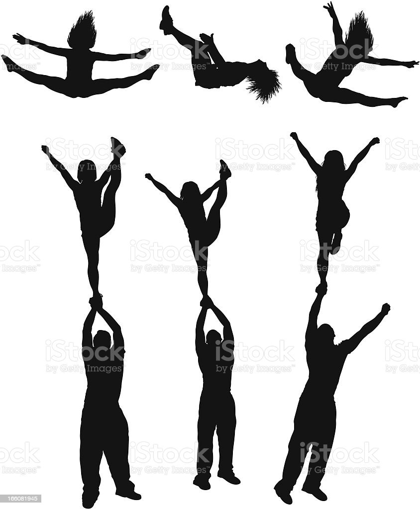 Silhouettes break dancing and flipping royalty-free silhouettes break dancing and flipping stock vector art & more images of acrobat