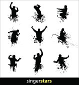 Silhouettes for banners