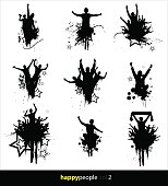 Silhouettes for sports and concerts