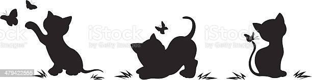 Silhouettes of cats with butterflies vector id479422555?b=1&k=6&m=479422555&s=612x612&h=vz5mtta3pnrir1zdnqtiar7iz1duyxt3fhiz j5f0ns=