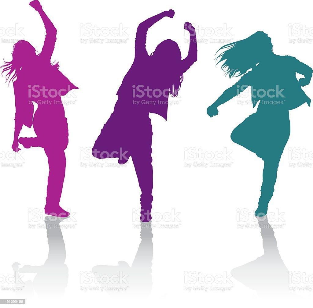 How do girls dance hip-hop