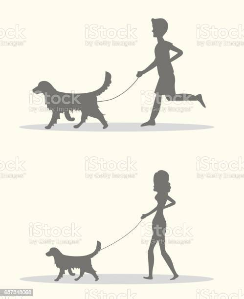 Silhouettes of men and women walking the dogs set of vector vector id657348068?b=1&k=6&m=657348068&s=612x612&h=yaxjfnlcwgvgy4bjcwvsqbzebutwjvdzcmi  ruuvqk=