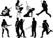 Silhouettes of people playing guitarhttp://www.twodozendesign.info/i/1.png