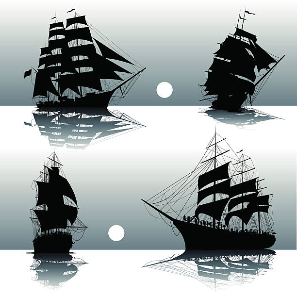 Royalty Free Sailing Ship Clip Art, Vector Images ...