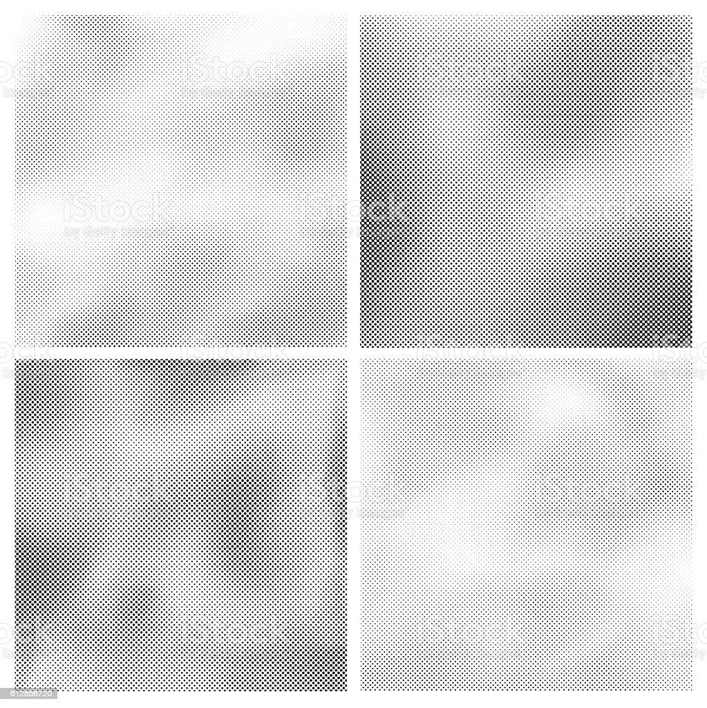 Silkscreen Backgrounds vector art illustration