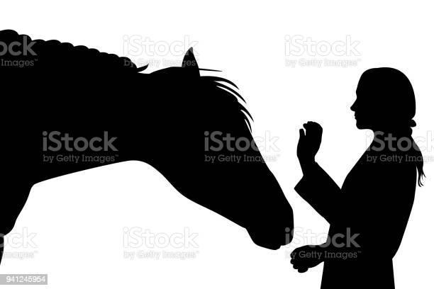 Sillhouette of girl with horse vector id941245954?b=1&k=6&m=941245954&s=612x612&h=s7peibr1epnxl vx0ponl2qhx wyabd89ybpuuj0s6s=