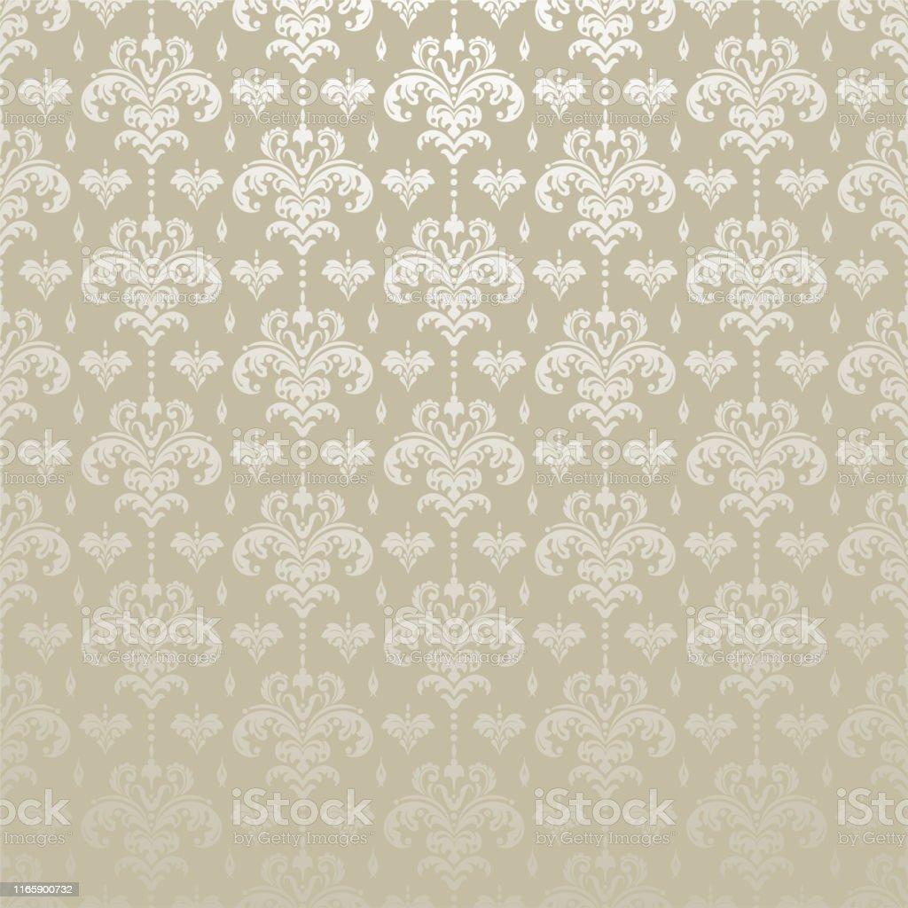 シルバーの背景の壁紙アジアンスタイル アラビア風のベクターアート素材や画像を多数ご用意 Istock