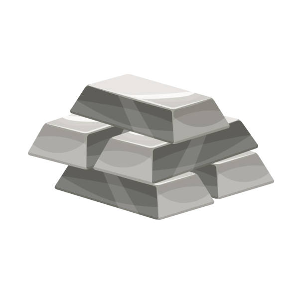 Silver Bar Stock Background Illustrations, Royalty-Free ...