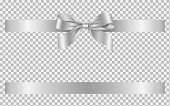 istock silver bow and ribbon 1271736798
