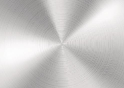 Silver Brushed metal background