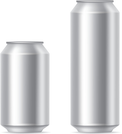 Silver cans