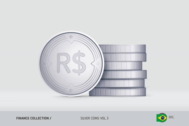 Royalty Free Brazilian Currency Symbol Clip Art Vector Images