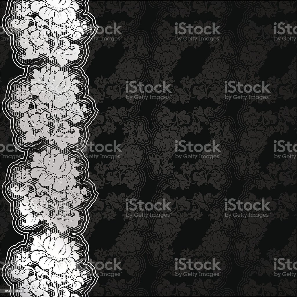 Silver flowers on background royalty-free silver flowers on background stock vector art & more images of backgrounds