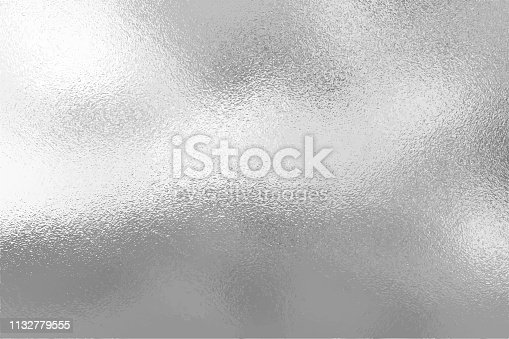 Silver foil texture background, Vector illustration