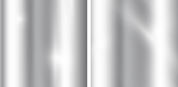 Silver gradients background. Realistic metallic texture. Elegant light and shine template.
