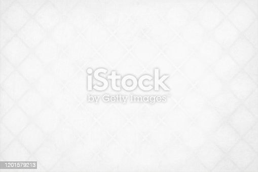 Pearl white colored grunge Christmas modern background with pattern of gray slanting lines crossing each other, as watermark all over. Apt to use as a backdrop, gift wrapping paper sheet, greeting cards, posters.