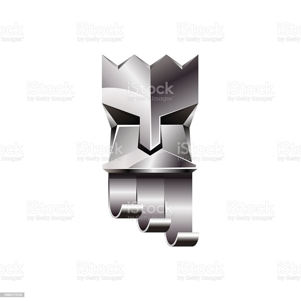 Silver head of king on white background. royalty-free silver head of king on white background stock vector art & more images of adult