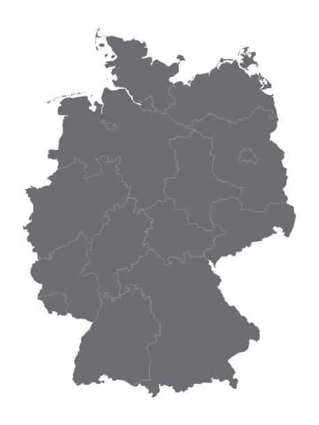 silberkarte deutschland - kanzlerin stock-grafiken, -clipart, -cartoons und -symbole