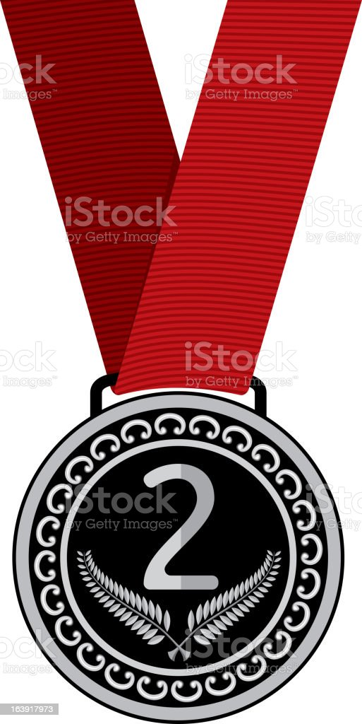 Silver medal royalty-free silver medal stock vector art & more images of award