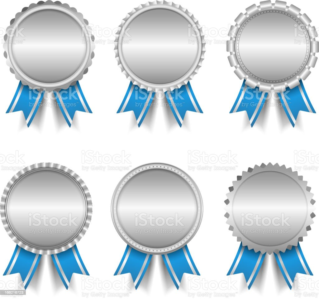 Silver Medals royalty-free silver medals stock vector art & more images of achievement