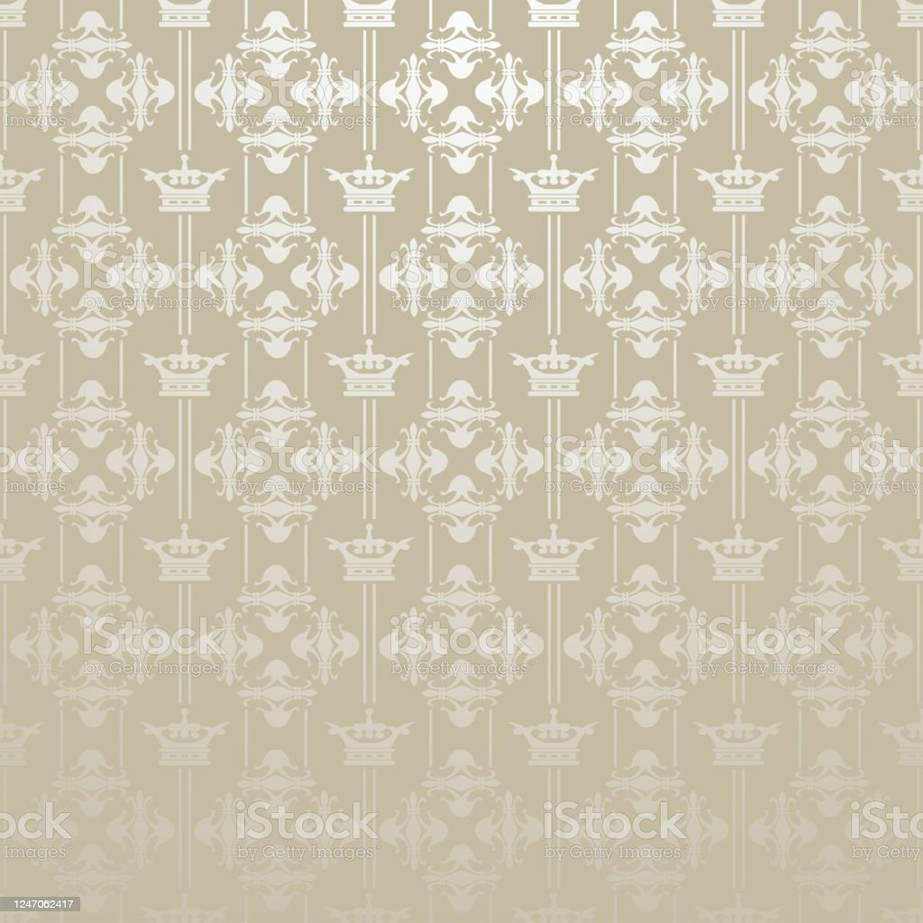 Silver Royal Background Wallpaper Texture Pattern Vector Stock Illustration Download Image Now Istock