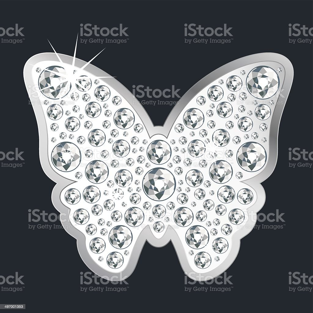 Text butterfly symbol gallery symbol and sign ideas silver shining butterfly symbol with diamonds stock vector art silver shining butterfly symbol with diamonds royalty buycottarizona