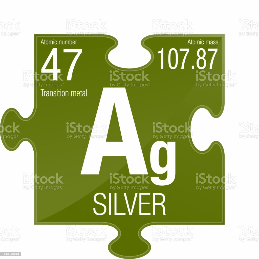 Silver symbol element number 47 of the periodic table of the silver symbol element number 47 of the periodic table of the elements chemistry royalty urtaz Choice Image