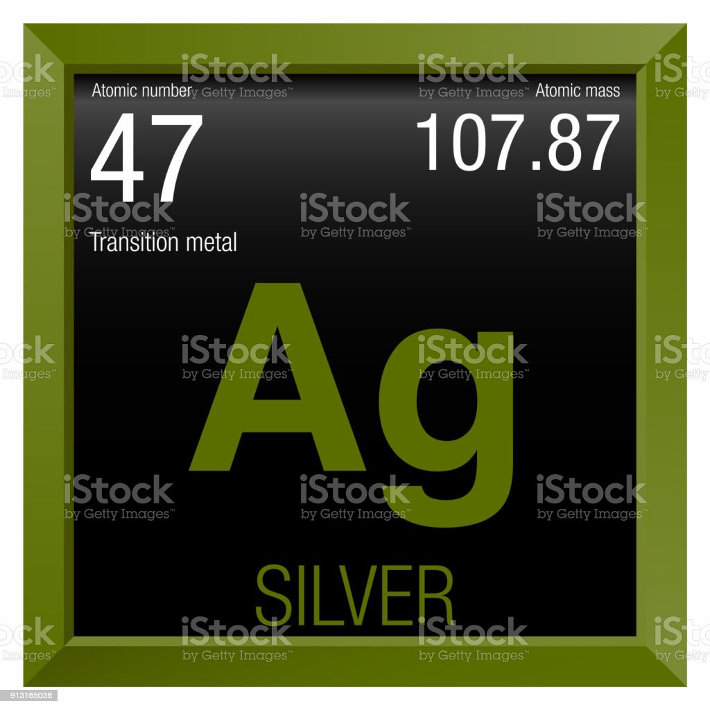 Silver symbol element number 47 of the periodic table of the silver symbol element number 47 of the periodic table of the elements chemistry royalty urtaz Image collections