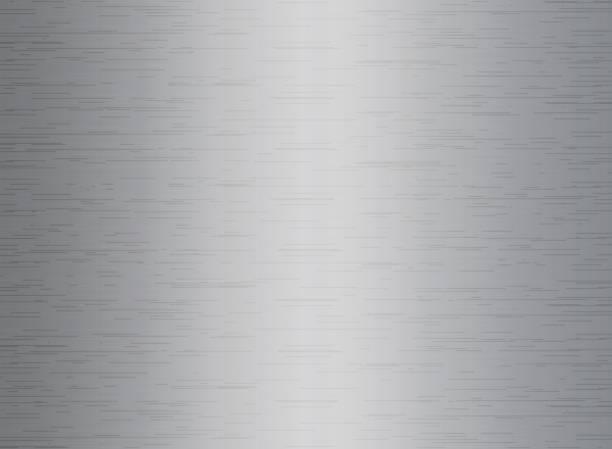 Silberne Textur Hintergrund – Vektorgrafik