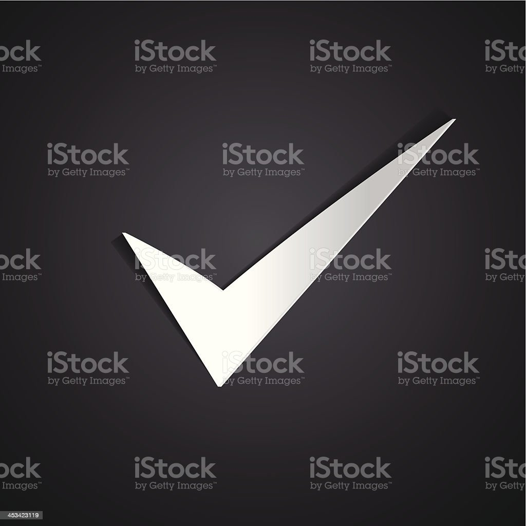 Silver true sign royalty-free silver true sign stock vector art & more images of activity