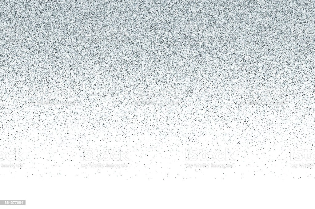 Silver vector glitter gradient background