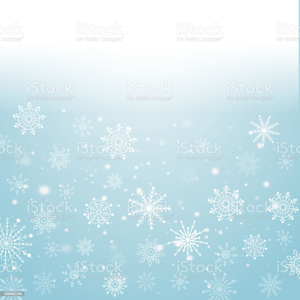Silver winter abstract background. Christmas  with snowflakes. Vector. royalty-free silver winter abstract background christmas with snowflakes vector stock vector art & more images of abstract