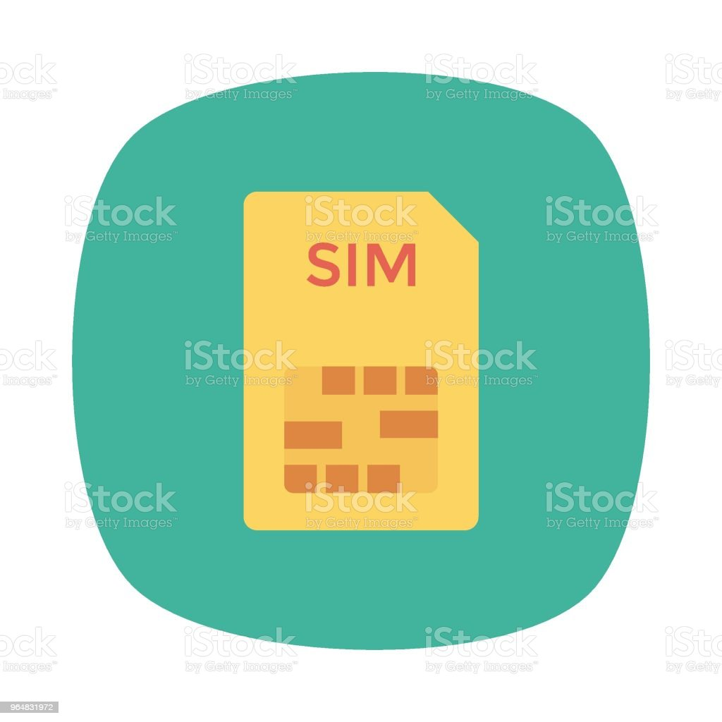 sim card royalty-free sim card stock vector art & more images of backgrounds