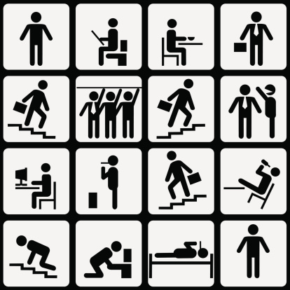 Simbolic life of Office Worker
