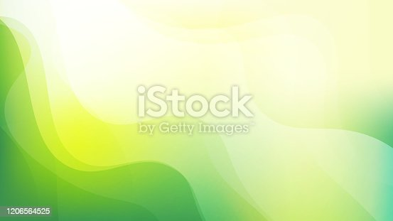 istock Simple abstract Green and yellow color background 1206564525