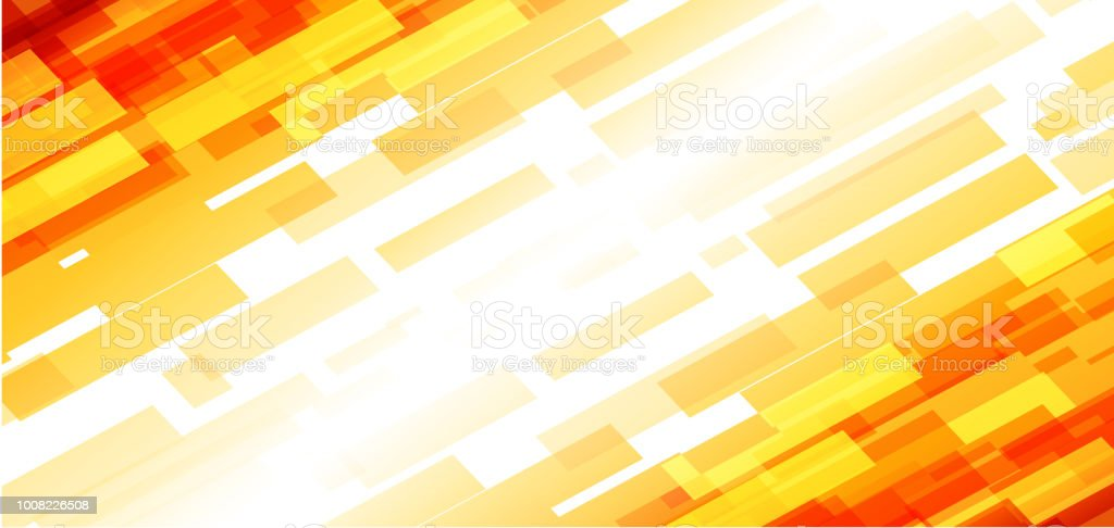 Simple Abstract Orange And Yellow Color Background Stock