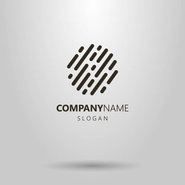 simple abstract rounded lines black and white simple abstract rounded lines generic description stock illustrations