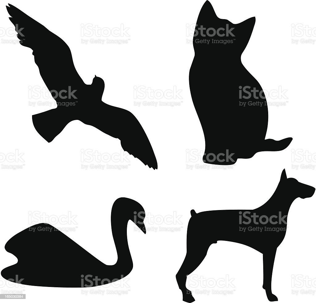 Simple animals shapes royalty-free simple animals shapes stock vector art & more images of animal