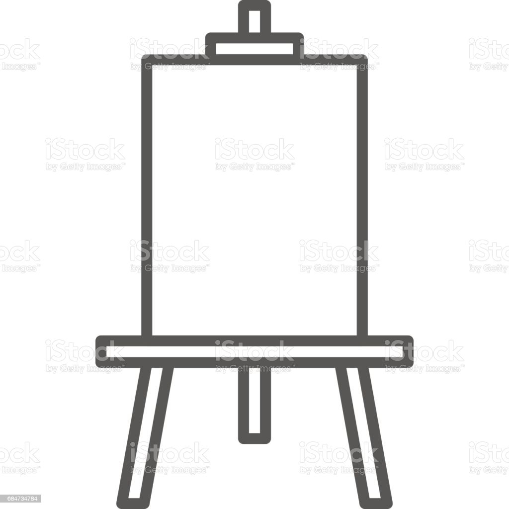 Basit Sanatsal Ve Hobi Vektör Hat Sanatı Kutsal Kişilerin Resmi