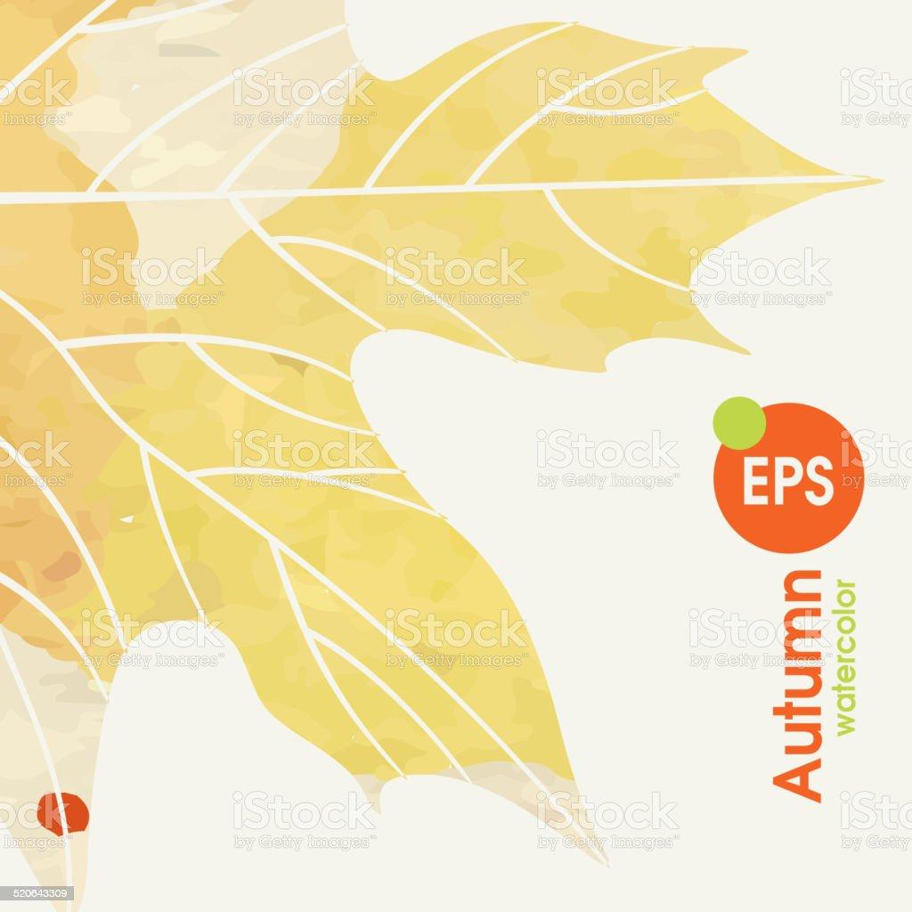 シンプルな秋の背景 のイラスト素材 520643309 | istock