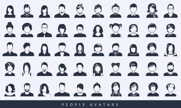 bildbanksillustrationer, clip art samt tecknat material och ikoner med enkla avatarikoner. - profile photo