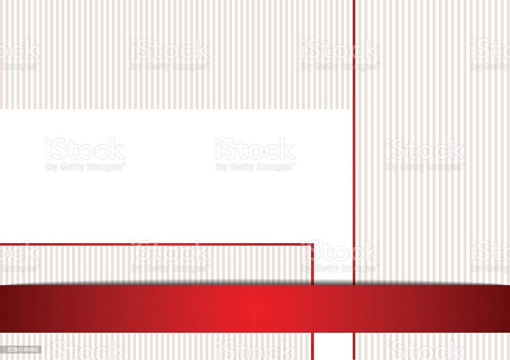 Semplice Sfondo In Colore Rosso E Bianco Immagini Vettoriali Stock