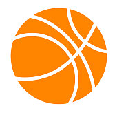 Vector Simple Basket Ball