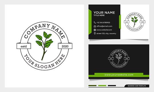 Simple Beauty leaf logo design, can use for beauty salon, spa, yoga, fashion template